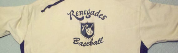 Check out the new Renegades 2012 clothing!