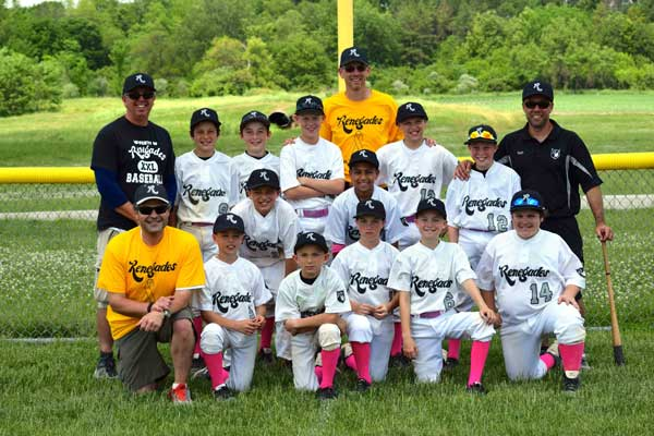 picture of renegades 11u baseball team