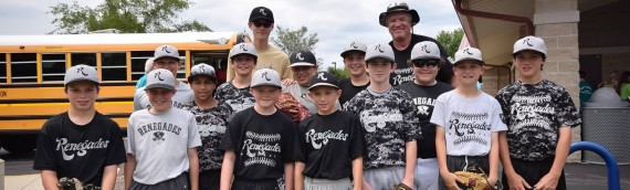 Renegades Participate in Special Needs All Star Baseball Game